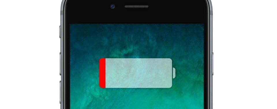 Výdrž baterie iPhone