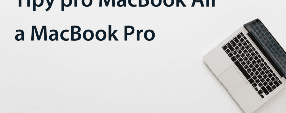 tipy macbook air
