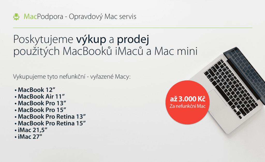 výkup macbook