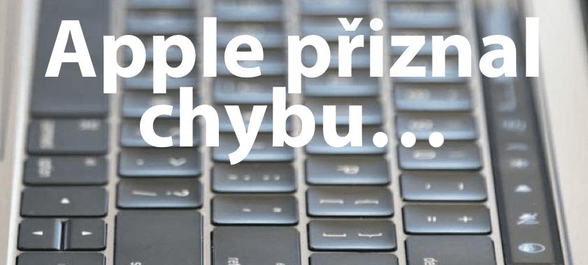 výměna klávesnice MacBook