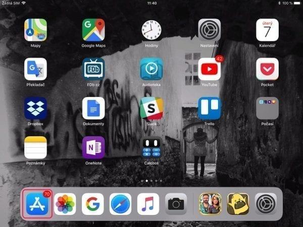 jak na iPad