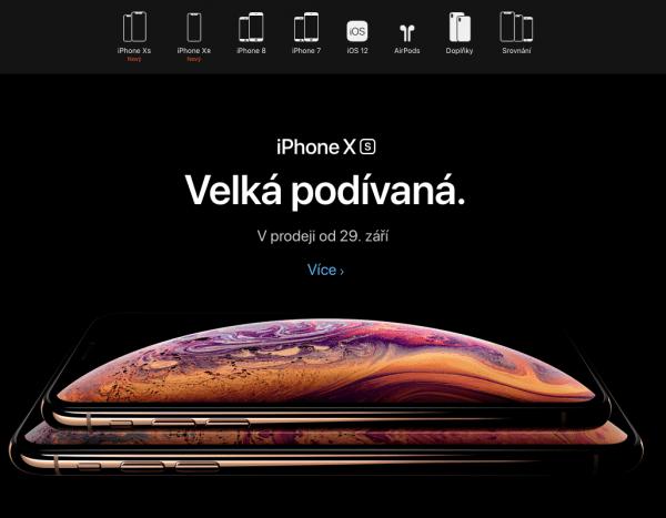 Prodej iPhone SE a iPhone 6
