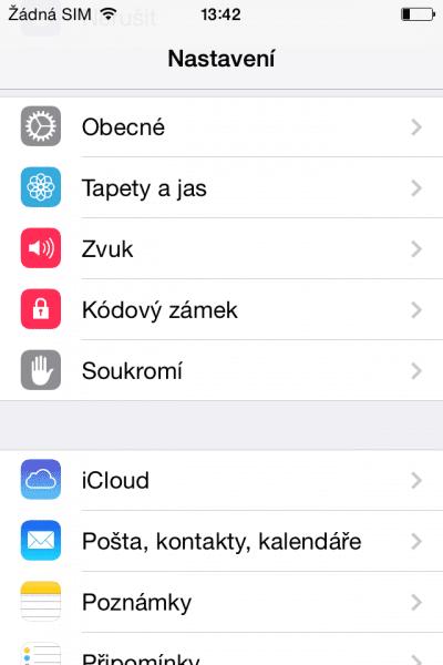 Jak aktualizovat iOS na iPhone 4