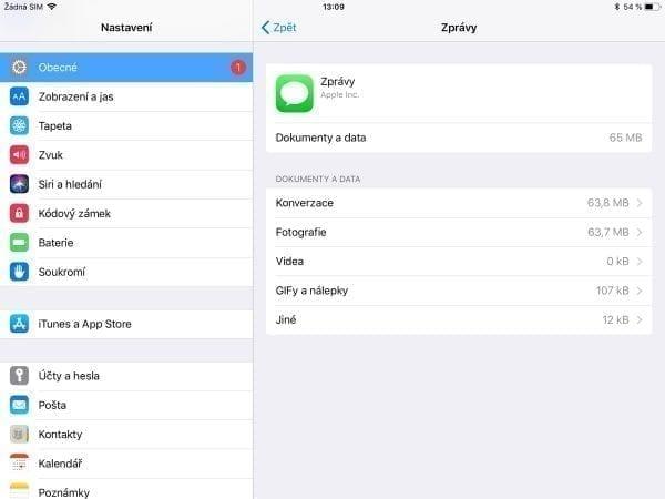 Jak vyčistit iPad
