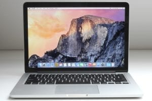 macbook pro 13 2015 128GB ssd 8GB ram bazar