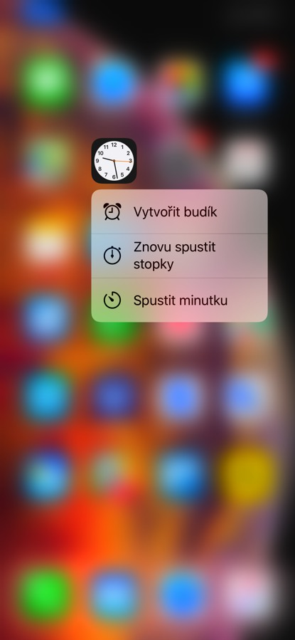 iPhone 3D Touch
