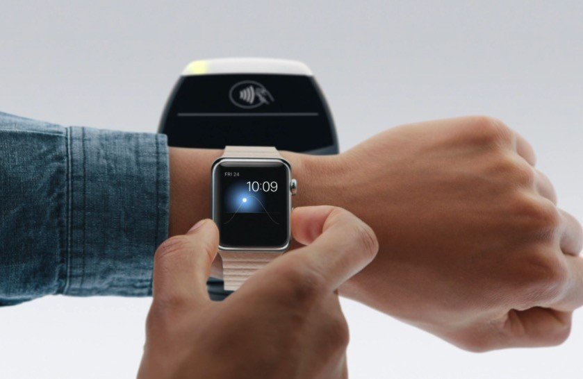 apple pay na apple watch
