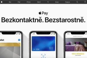 stránky o Apple Pay