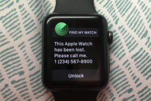 Najít Apple Watch