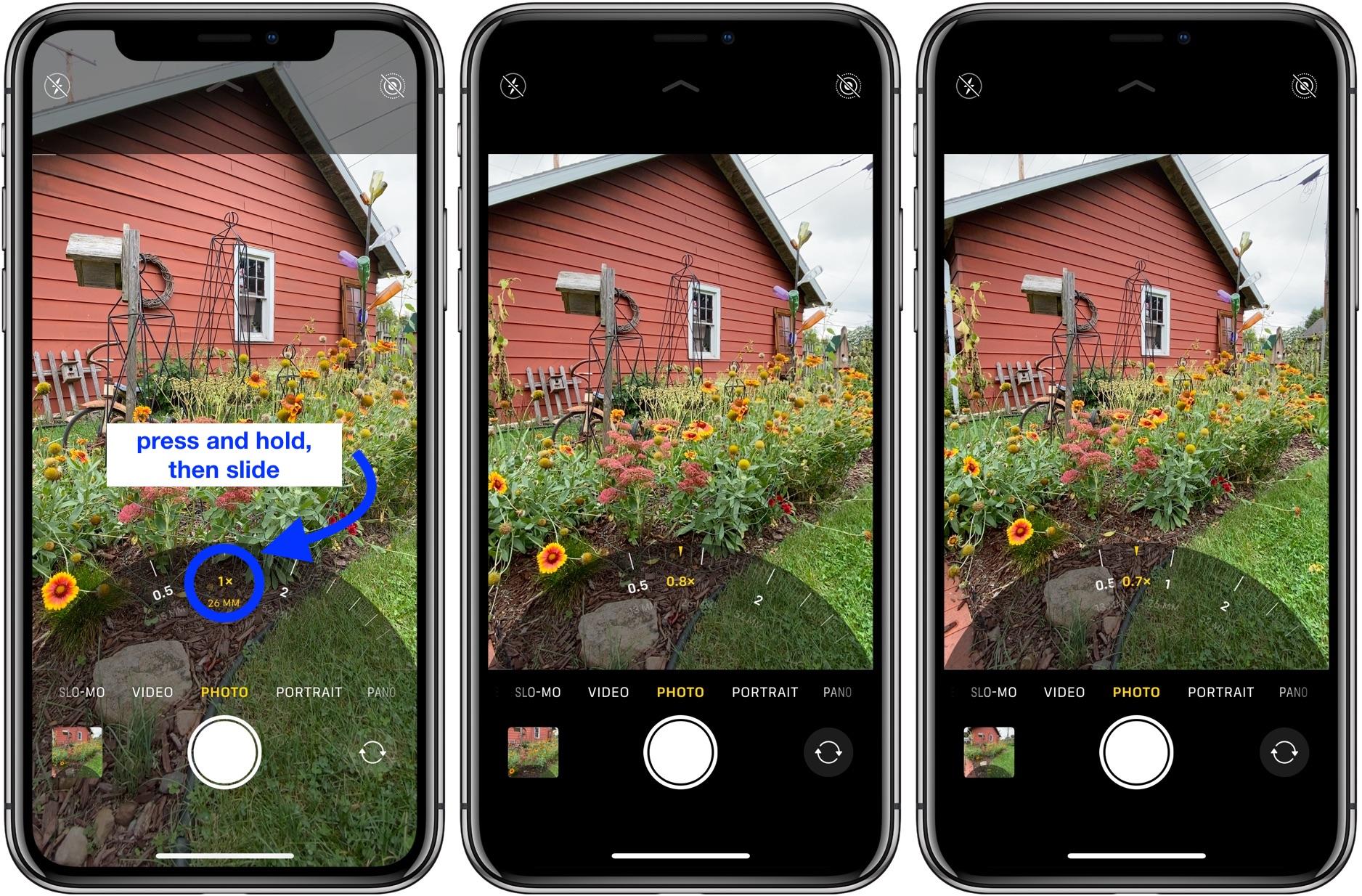 iPhone 11 Pro fotografování