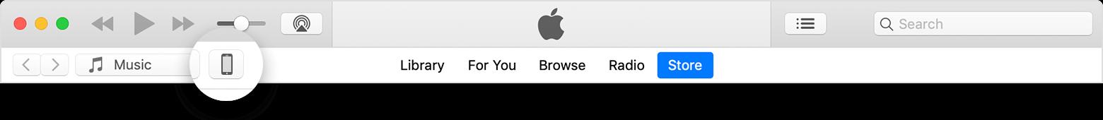 macOS iTunes