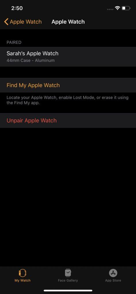 Jak najít ztracené Apple Watch