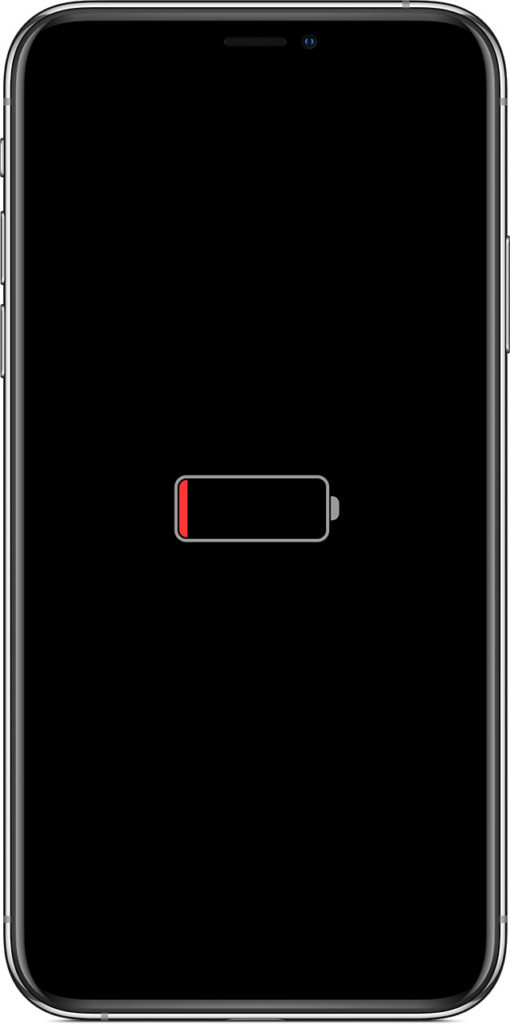 iPhone nabíjení