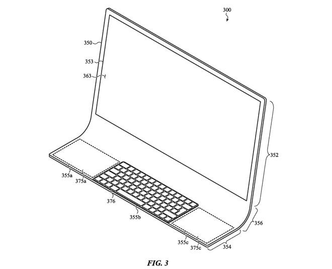 Nový iMac patent