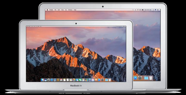 Oprava základní desky MacBook Air