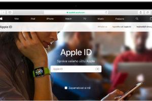 Apple ID přihlášení