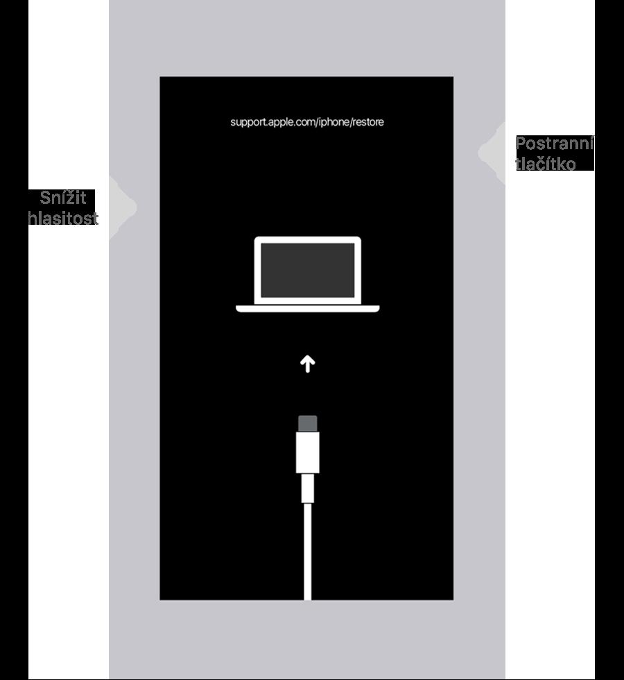 Odebrání kódu iPhone 7