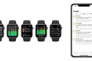Apple Watch monitoring spánku