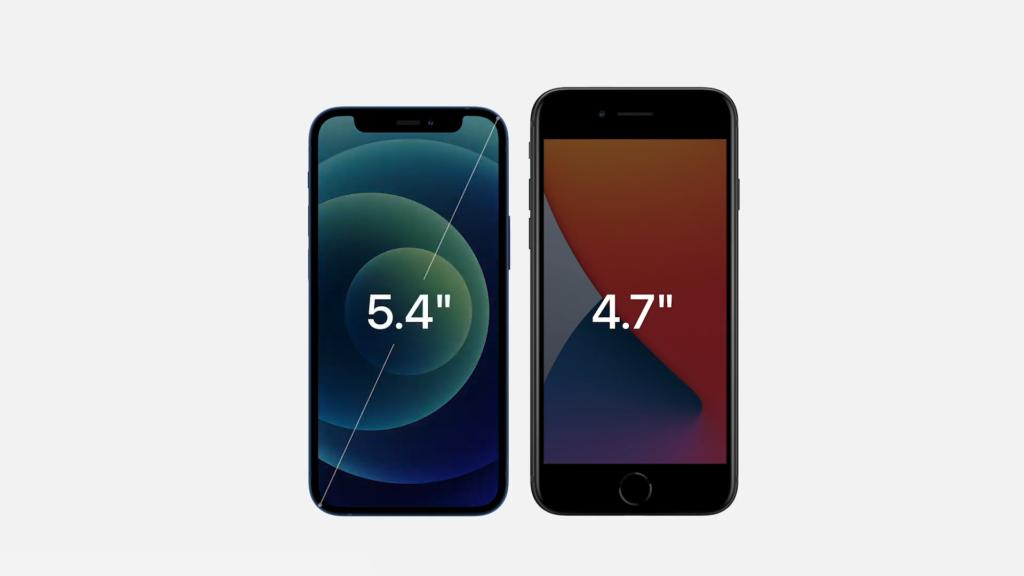 iPhone 12 mini vs iPhone 7