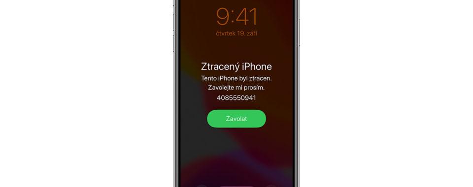 jak odblokovat ukradený iphone